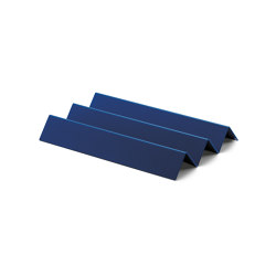 Stapler | File Tray Stack, knicker saphire blue RAL 5003 | Desk tidies | Magazin®