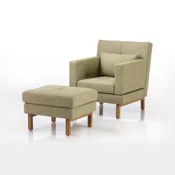 amber armchair | Armchairs | Brühl