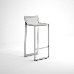 Blau Stool with High Backrest | Bar stools | GANDIABLASCO