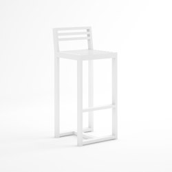 DNA Counter Stool with Backrest | Counter stools | GANDIABLASCO