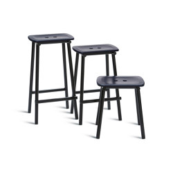 Tubby Tube Bar Stool | Wooden seat | Sgabelli bancone | Please Wait to be Seated
