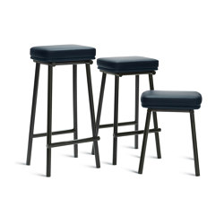 Tubby Tube Bar Stool   Upholstered seat   Bar stools   Please Wait to be Seated