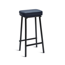 Tubby Tube Bar Stool | Upholstered seat | Barhocker | Please Wait to be Seated