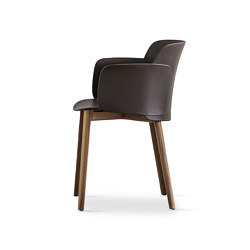 Paper | chair with solid oak wooden frame | Chairs | Desalto