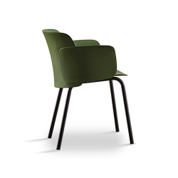 Paper | chair with steel frame round legs | Chairs | Desalto
