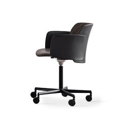 Paper | swivelling chair adjustable height with wheels | Office chairs | Desalto