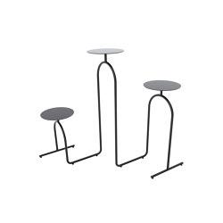 Hiatus | pedestal table | Side tables | AYTM