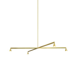 Austere-Chandelier 1X | Suspended lights | Trizo21