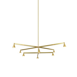 Austere-Chandelier 2+ | Suspended lights | Trizo21