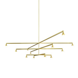 Austere-Chandelier 3X | Suspensions | Trizo21