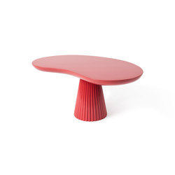 MIRA | Side table | Red | Mesas de centro | Maison Dada