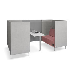Kubik box/2 + WALL | Sofas | LD Seating