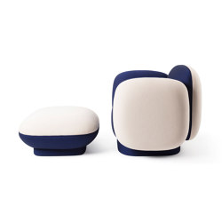 MAJOR TOM | Armchair with Ottoman | Sessel | Maison Dada
