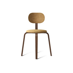 Afteroom Plywood, Seat and backrest with fabric | Chairs | MENU
