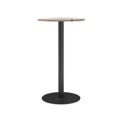 Harbour Column Bar Table, Kunis Breccia Stone | Tavoli alti | MENU
