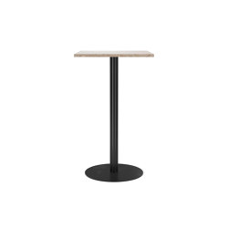 Harbour Column Bar Table, Kunis Breccia Stone | Standing tables | MENU