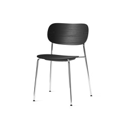 Co Chair, Chrome / Black Oak | Chairs | MENU