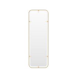 Nimbus Mirror, Rectangular, Polished Brass   Mirrors   MENU
