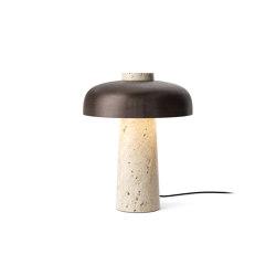 Reverse Table Lamp, Bronzed Brass | Table lights | MENU