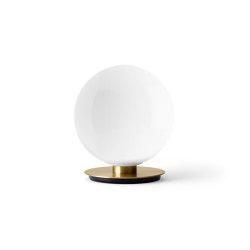 TR Bulb Ceiling / Wall Lamp, brass / Shiny Opal, w/Dim to Warm | Table lights | MENU