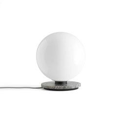 TR Bulb Table/ Wall, Grey Marble / Shiny Opal, w/Dim to Warm | Table lights | MENU