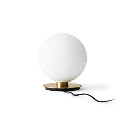 TR Bulb Table/ Wall, Brass / Matte Opal, w/Dim to Warm | Table lights | MENU