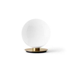 TR Bulb Table/ Wall, Brass / Shiny Opal, w/Dim to Warm | Table lights | MENU
