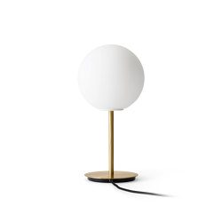 TR Bulb Table Lamp, Brass/ Matte Oapl, w/Dim to Warm | Table lights | MENU