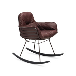 Leyasol | Indoor | Rocking Chair Small | Sedie | FREIFRAU MANUFAKTUR