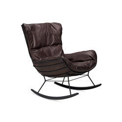 Leyasol | Indoor | Rocking Wingback Chair | Poltrone | FREIFRAU MANUFAKTUR