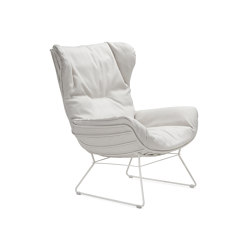 Leyasol | Outdoor | Wingback Chair | Poltrone | FREIFRAU MANUFAKTUR