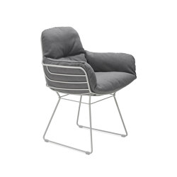 Leyasol | Outdoor | Armchair High | Sedie | FREIFRAU MANUFAKTUR