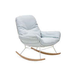 Leyasol | Outdoor | Rocking Lounge Chair | Poltrone | FREIFRAU MANUFAKTUR