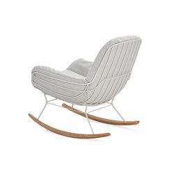 Leyasol | Outdoor | Rocking Lounge Chair | Armchairs | FREIFRAU MANUFAKTUR