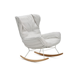 Leyasol | Outdoor | Rocking Wingback Chair | Poltrone | FREIFRAU MANUFAKTUR