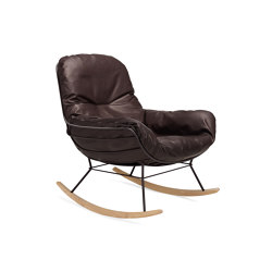 Leyasol | Indoor | Rocking Lounge Chair | Poltrone | FREIFRAU MANUFAKTUR
