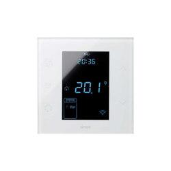 Simon 100 | White Thermostat | Heating / Air-conditioning controls | Simon