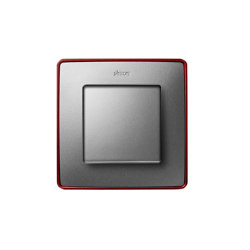 Detail 82 | Select Switch Cold Aluminium | Two-way switches | Simon