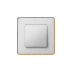 Detail 82 | Select Switch Natural Wood | Two-way switches | Simon