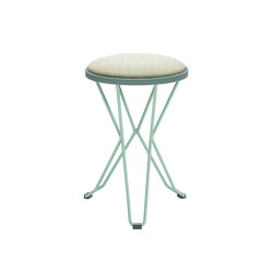 Madrid Mini Stool Upholstered | Stools | iSimar