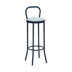 Puerto Upholstered Stool | Barhocker | iSimar