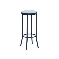 Puerto Upholstered Stool No Backrest | Bar stools | iSimar