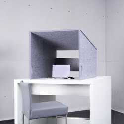 recycled PET | designed acoustic tw@rkle | Sound absorbing table systems | SP?H designed acoustic