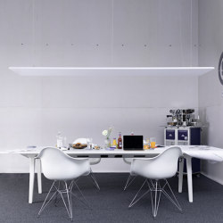 recycled PET | designed acoustic ceiling | Sound absorbing suspended panels | SPÄH designed acoustic