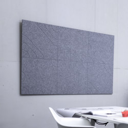recycled PET | designed acoustic tiles | Sound absorbing wall systems | SPÄH designed acoustic