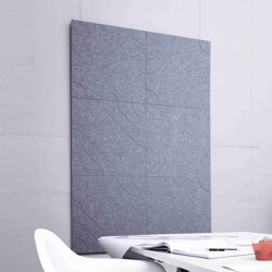 recycled greenPET | designed acoustic tiles | Sound absorbing wall systems | SPÄH designed acoustic