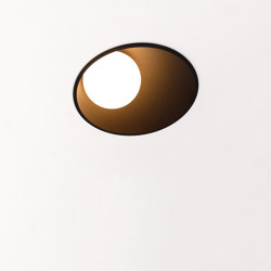 Shellby 184 LED 2700K GE black struc | Recessed wall lights | Modular Lighting Instruments