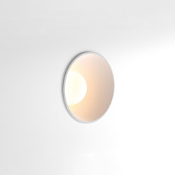 Shellby 184 LED warm dim GE white struc | Lampade parete incasso | Modular Lighting Instruments