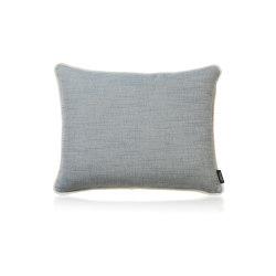 Baltic Frame cerulean |50x40| | Cushions | Manufaktur Kissenliebe
