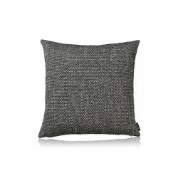Crochet ebony |50x50| | Kissen | Manufaktur Kissenliebe